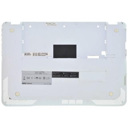 Нижняя часть корпуса (D) для MSI X-Slim X370 (MS-1356) / 307-351D135-Z17 белый