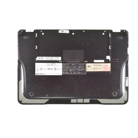 Нижняя часть корпуса (D) для MSI X-Slim X370 (MS-1356) / 307-351D235-Z17 черный