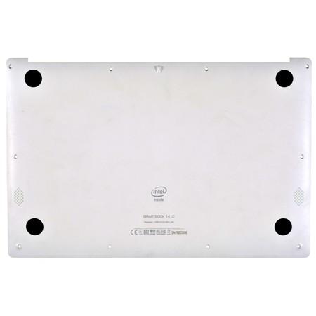Нижняя часть корпуса (D) для Prestigio Smartbook 141C PSB141C01BFH / белый