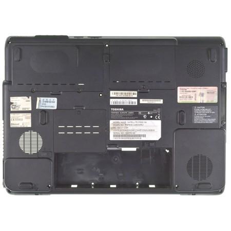Нижняя часть корпуса (D) для Toshiba Satellite P200 / AP017000Y00 черный