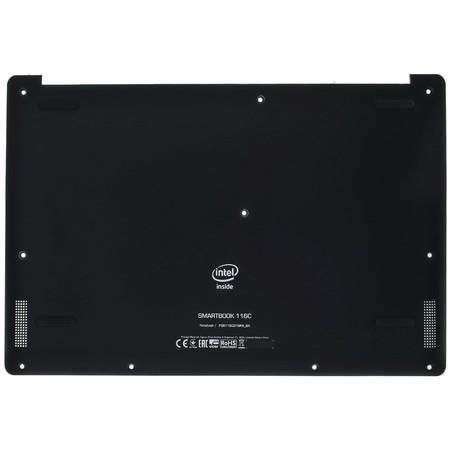 Нижняя часть корпуса (D) для Prestigio Smartbook 116C (PSB116C01) / черный