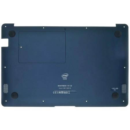 Нижняя часть корпуса (D) для Prestigio Smartbook 141 C2 / синий