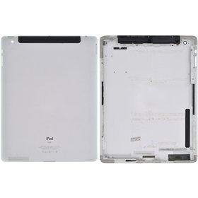 Задняя крышка планшета Apple iPad 2 (A1396) (Wi-Fi + 3G модель GSM) / 604-1836-32 серебристый