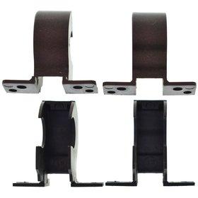 Заглушки петель матрицы ноутбука Sony VAIO VPCEB / коричневый