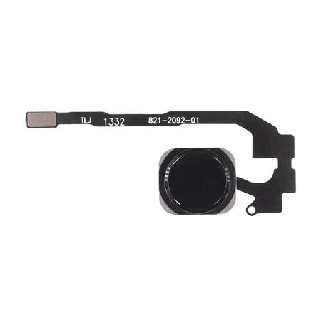 Шлейф / плата Apple iPhone 5S 821-2092-A на кнопку HOME / черный
