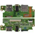 Шлейф / плата Prestigio Smartbook 141C PSB141C01BFH / Y116C-I0R220 на аудио разъем