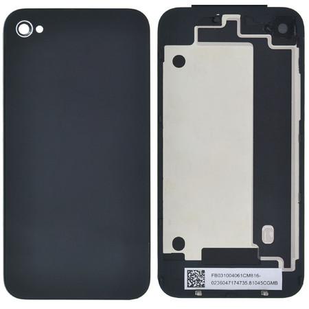 Задняя крышка для Apple Iphone 4 / черный