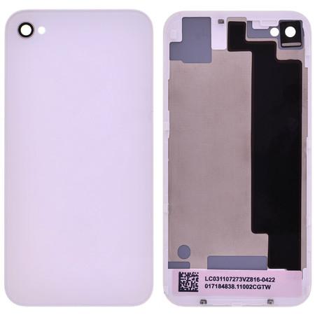 Задняя крышка для Apple iPhone 4S / белый