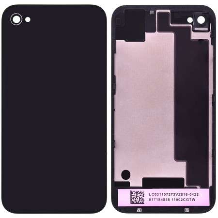 Задняя крышка для Apple Iphone 4S / черный