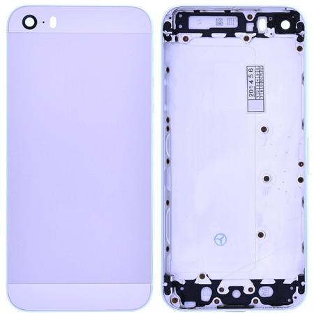 Задняя крышка для Apple iPhone 5S / серебристый