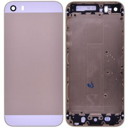 Задняя крышка для Apple iPhone 5S / золото