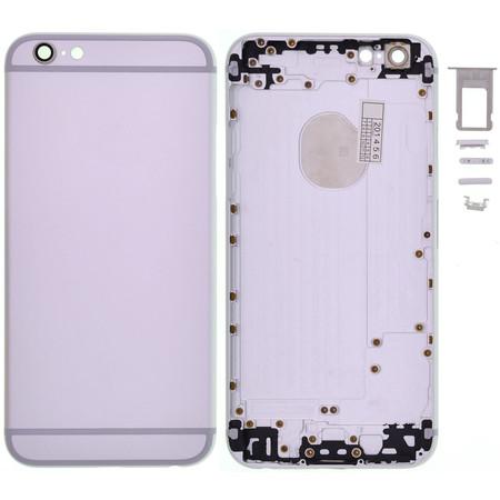 Задняя крышка для Apple iPhone 6 / серебристый