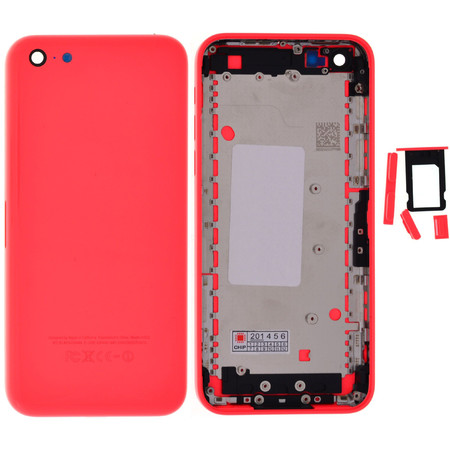 Задняя крышка для Apple iPhone 5C / розовый