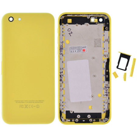 Задняя крышка для Apple iPhone 5C / желтый