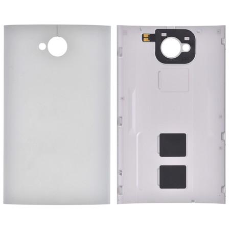 Задняя крышка для HTC One M7 801n PN07100 / серебристый