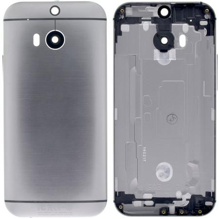 Задняя крышка для HTC One M8 / серый