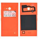 Задняя крышка для Nokia Lumia 730 Dual sim (RM-1040) / оранжевый