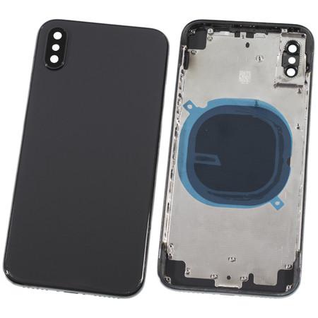 Задняя крышка + рамка для Apple iPhone X / черный корпус в сборе