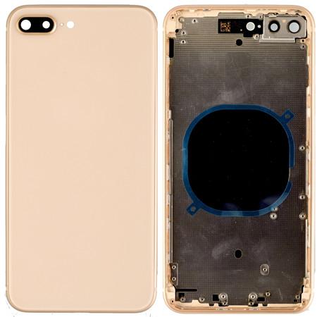 Задняя крышка + рамка для Apple iPhone 8 plus / золото корпус в сборе