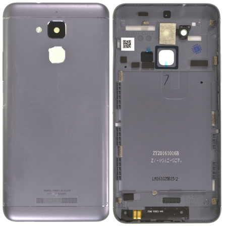 Задняя крышка для ASUS ZenFone 3 Max (ZC520TL) X008D / серый