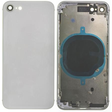 Задняя крышка + рамка для Apple iPhone 8 / белый корпус в сборе