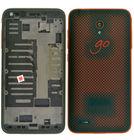 Задняя крышка - корпус Alcatel OneTouch Go Play 7048X / красный