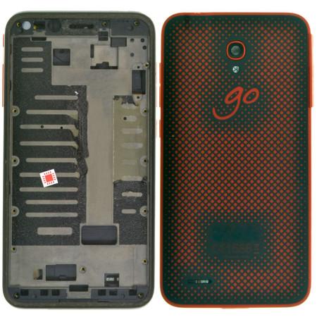 Задняя крышка для Alcatel One Touch Go Play 7048X / красный