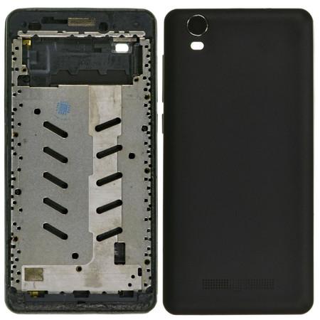 Задняя крышка + рамка для Prestigio Wize N3 PSP3507DUO / черный