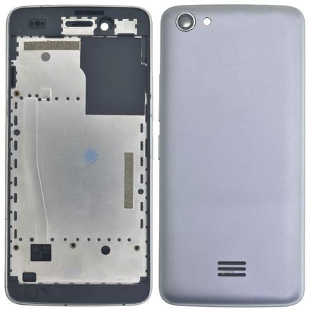 Задняя крышка для DEXP Ixion X245 Rock mini / серый