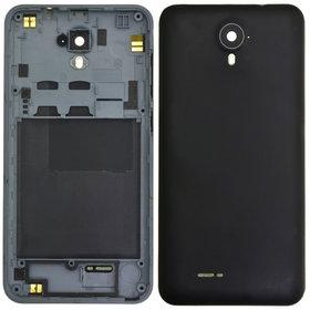 Задняя крышка Micromax Q415 / черный