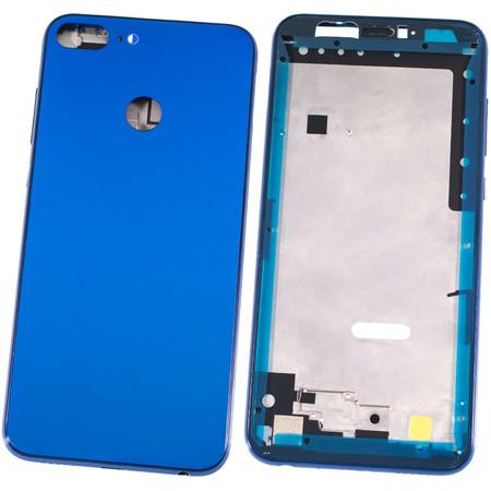 Задняя крышка + рамка для Honor 9 lite (LLD-L31) / синий корпус в сборе