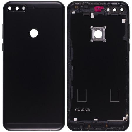 Задняя крышка для Honor 7C Pro (LND-L30) / черный