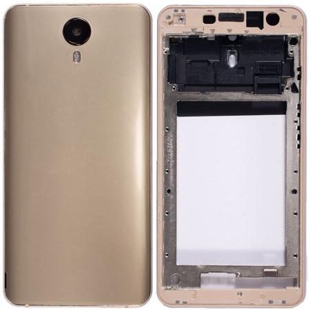Задняя крышка + рамка для Prestigio Muze X5 LTE PSP5518DUO / золото