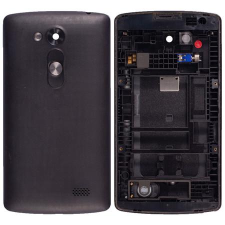 Задняя крышка + рамка для LG L Fino D295 / черный