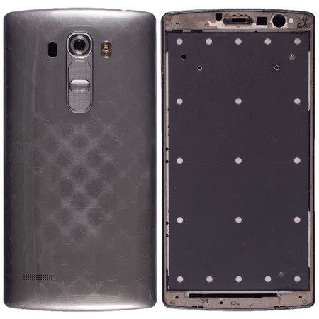 Задняя крышка + рамка для LG G4s H736 / серый