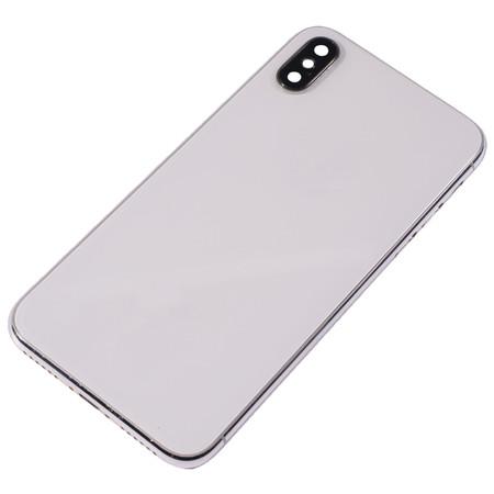 Задняя крышка + рамка для Apple iPhone X / белый (ORIG) корпус в сборе