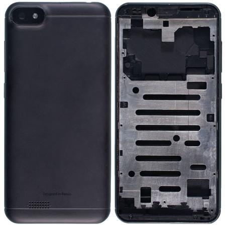 Задняя крышка + рамка для Senseit A150 / черный