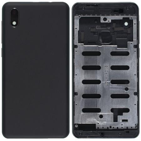 Задняя крышка + рамка для INOI 2 Lite 2019 / черный