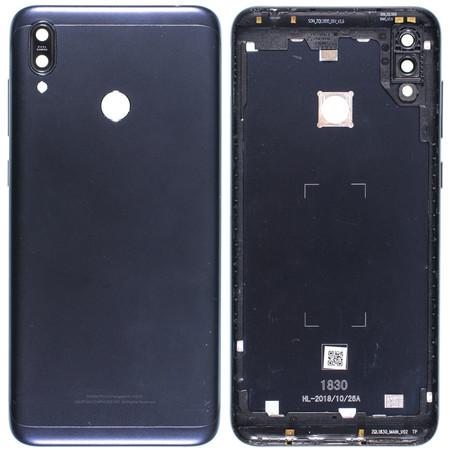 Задняя крышка для ASUS ZenFone Max M2 (ZB633KL) / темно - синий