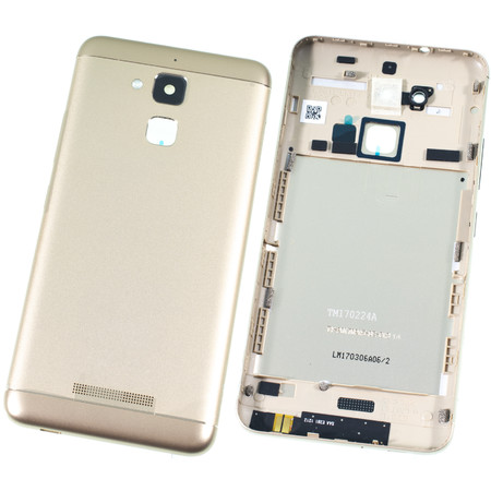 Задняя крышка для ASUS ZenFone 3 Max (ZC520TL) X008D / золото