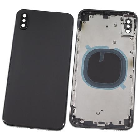 Задняя крышка + рамка для Apple iPhone Xs Max / черный корпус в сборе