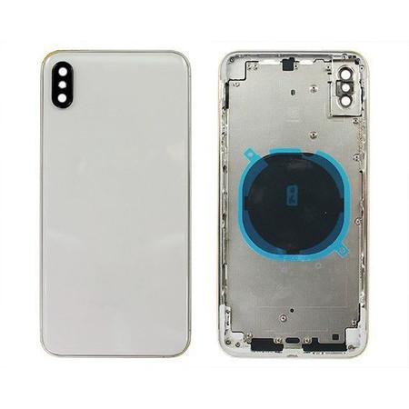 Задняя крышка + рамка для Apple iPhone Xs / белый корпус в сборе