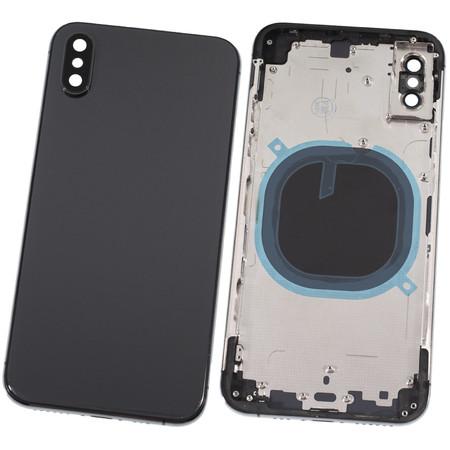 Задняя крышка + рамка для Apple iPhone Xs / черный корпус в сборе