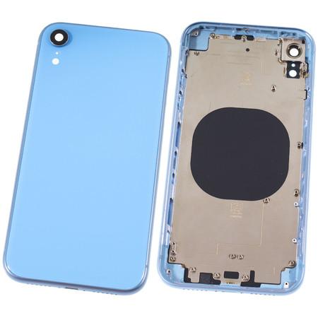 Задняя крышка + рамка для Apple iPhone XR / голубой корпус в сборе