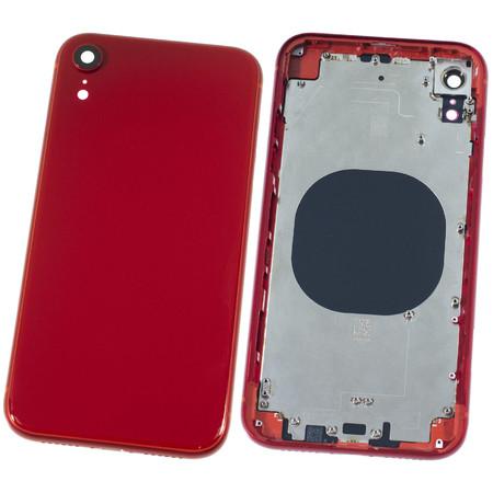 Задняя крышка + рамка для Apple iPhone XR / красный корпус в сборе