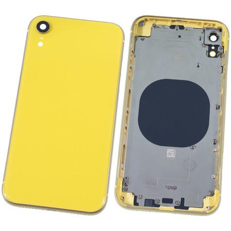 Задняя крышка + рамка для Apple iPhone XR / желтый корпус в сборе