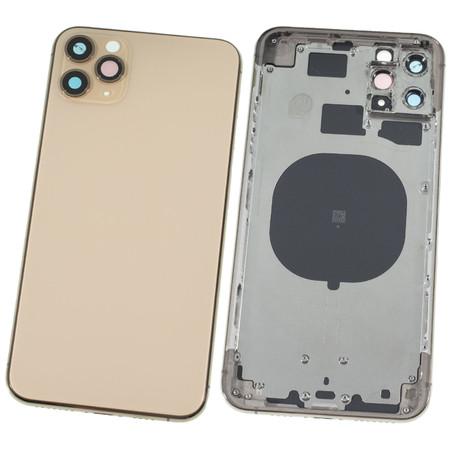 Задняя крышка + рамка для Apple iPhone 11 Pro Max / золото корпус в сборе