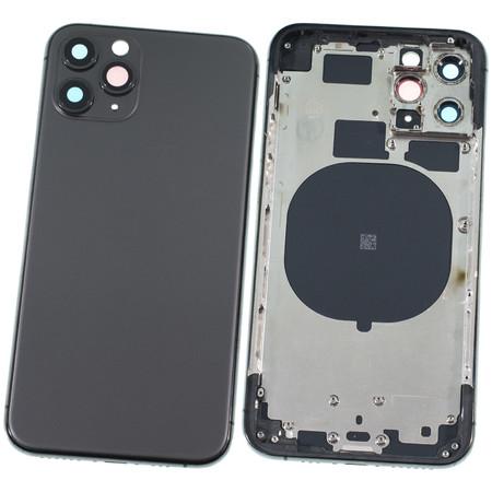 Задняя крышка + рамка для Apple iPhone 11 Pro / черный корпус в сборе