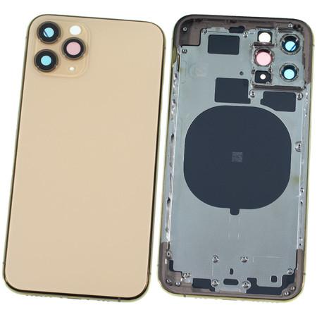 Задняя крышка + рамка для Apple iPhone 11 Pro / золотой корпус в сборе