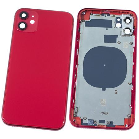 Задняя крышка + рамка для Apple iPhone 11 / красный корпус в сборе